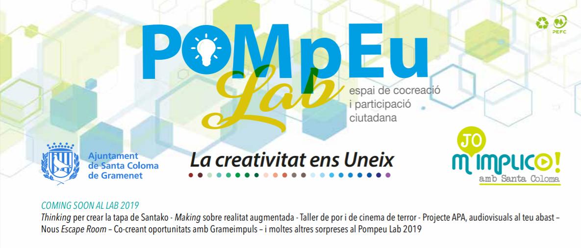 """Co-creation and citizen participation """"Pompeu Lab"""" (Santa Coloma de Gramanet)"""