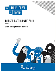 Participatory budget first edition (Ahuntsic-Cartierville / Montreal)