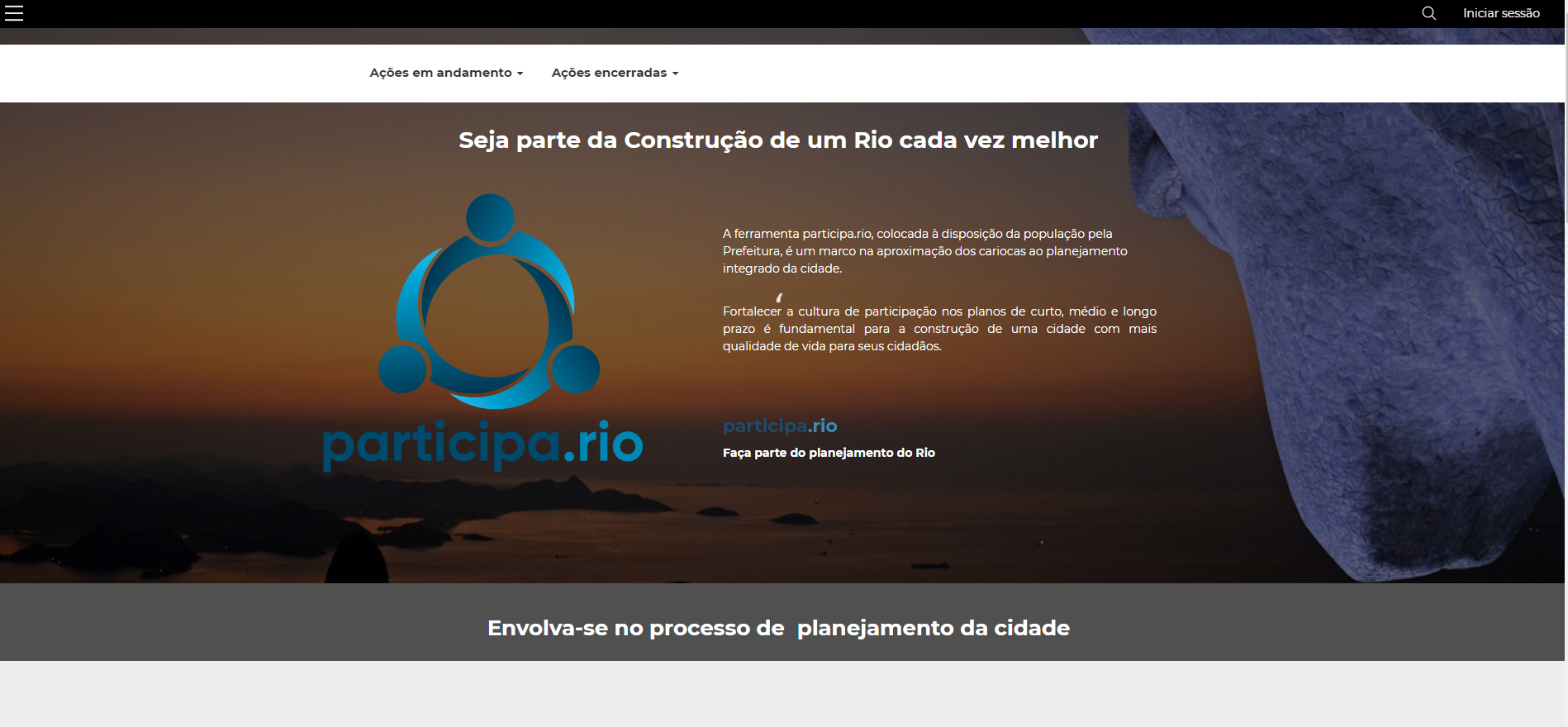 Social participation for the construction of the Sustainable Development and Climate Action Plan of the City of Rio de Janeiro
