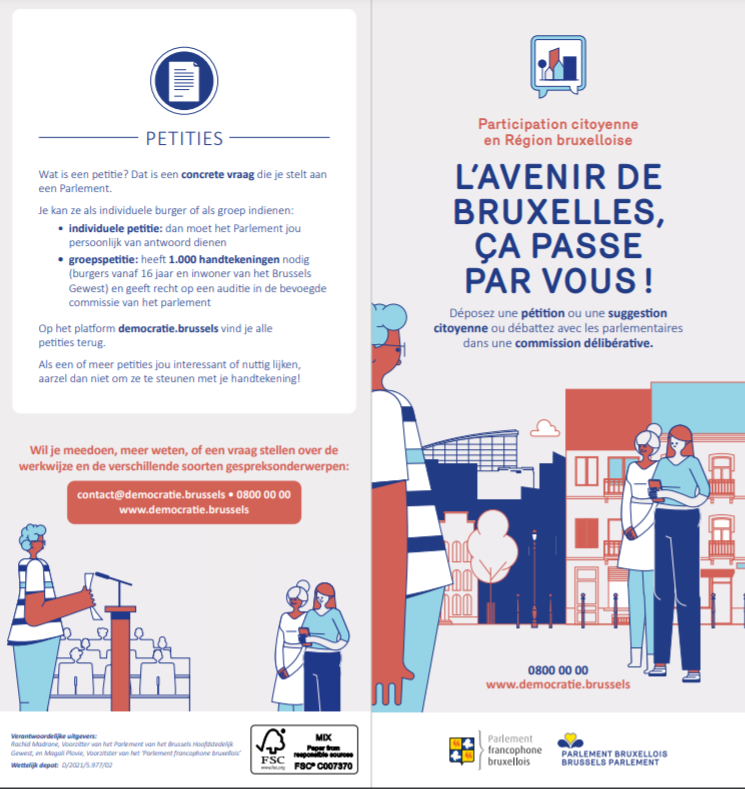 Deliberative commissions in the French-speaking Parliament of Brussels