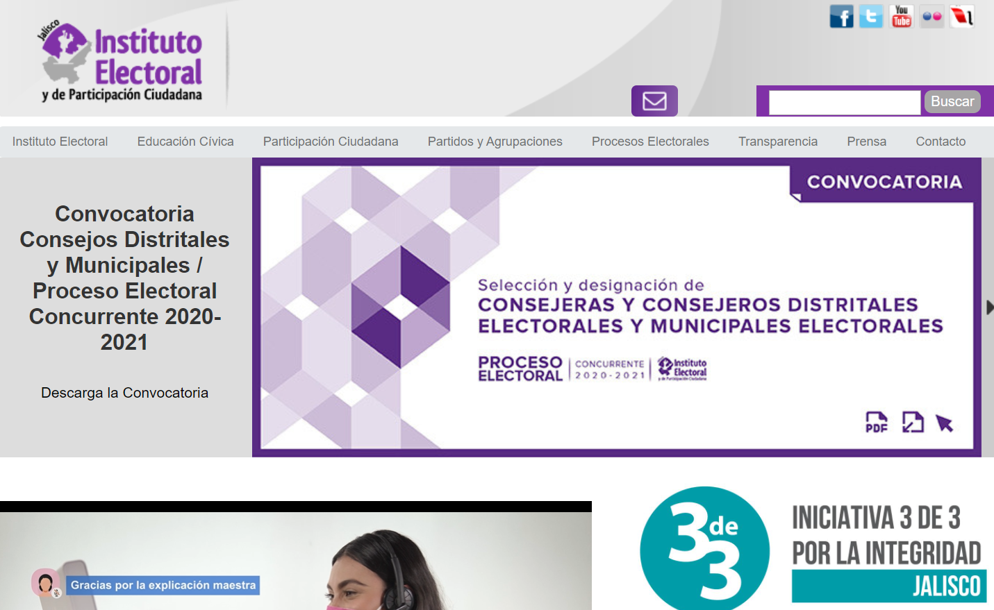 Repository of Electoral and Citizen Participation Institute - IEPC Jalisco