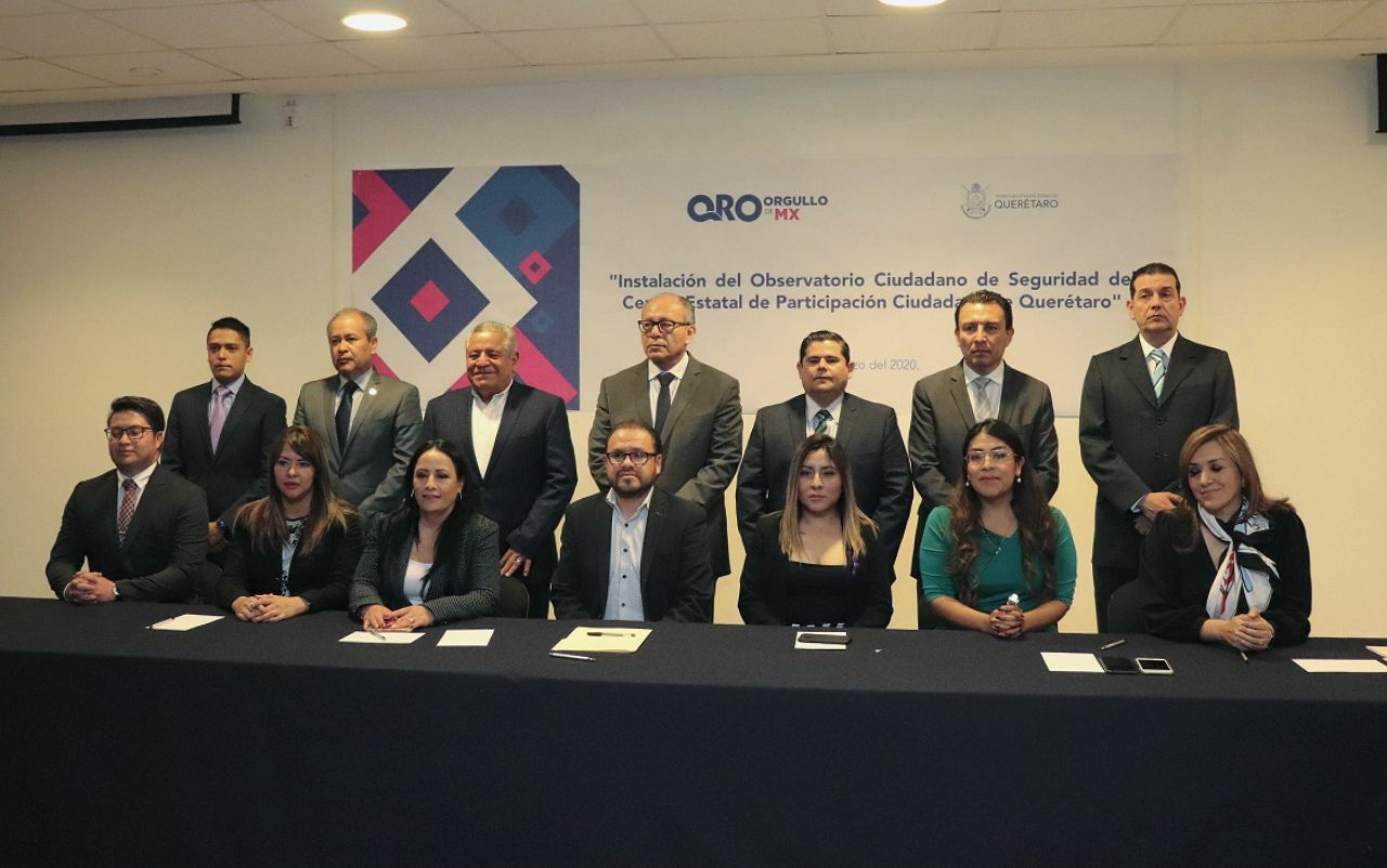 Querétaro Citizen Security Observatory