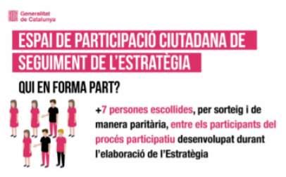 Citizen Participation Area for Follow-up of the Strategy to Fight Corruption and Strengthen Public Integrity (Catalonia)