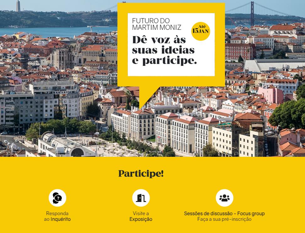 Participatory Process for the Martim Moniz Square (Lisboa)