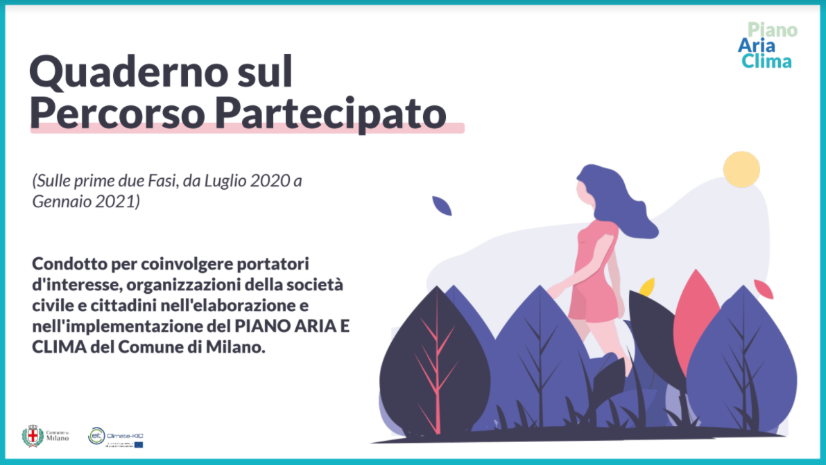 Participatory process of the Air and Climate Plan (Milan)
