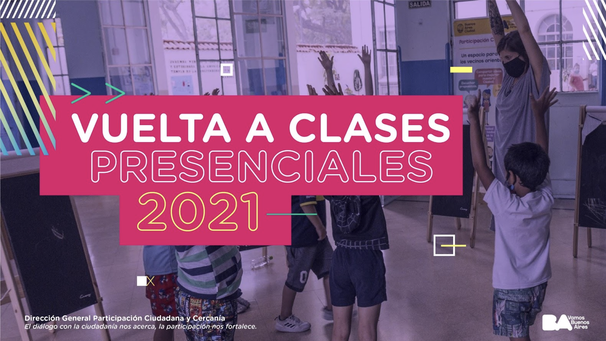 """Participatory process: """"Vuelta a Clases presenciales 2021"""" (Back to face-to-face classes 2021) (Buenos Aires)"""